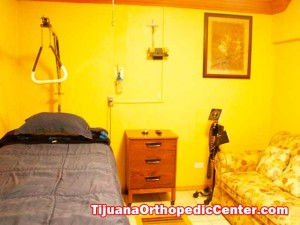 Patient Room - Ortho Surgery Center in Tijuana - Mexico